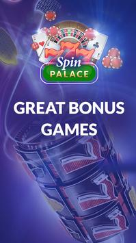 Spin Palace: Mobile Casino App screenshot 1