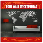 cool wall sticker ideas icon