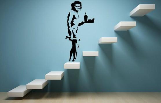 cool wall sticker ideas poster