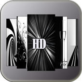 Black wallpapers for android icon