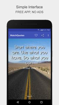 WatchQuotes poster