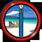 Lock Screen - Tropical Beach icon