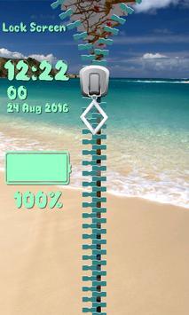 Lock Screen - Tropical Beach screenshot 6