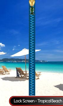 Lock Screen - Tropical Beach poster