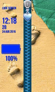 Lock Screen - Tropical Beach screenshot 3