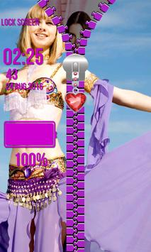 Lock Screen - Belly Dance apk screenshot
