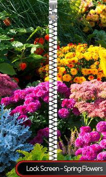 Lock Screen - Spring Flowers poster