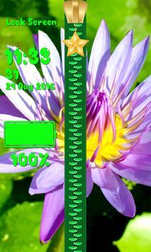 Lock Screen - Spring Flowers screenshot 12