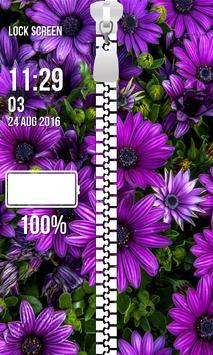 Lock Screen - Spring Flowers screenshot 3