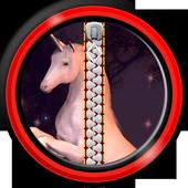 Zipper Lock Screen – Unicorn icon