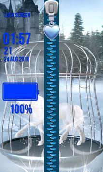 Zipper Lock Screen – Unicorn apk screenshot