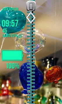 Zipper Lock Screen – Valentine screenshot 3