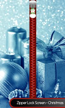 Zipper Lock Screen – Christmas poster