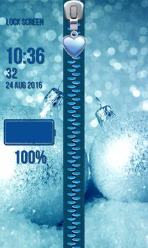 Zipper Lock Screen – Christmas screenshot 3
