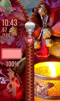 Zipper Lock Screen – Christmas screenshot 6