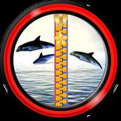 Zipper Lock Screen – Dolphins icon