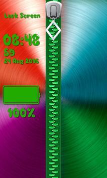 Zipper Lock Screen – Glitter screenshot 5