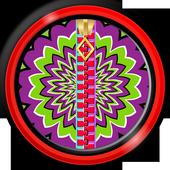Zipper Lock Screen – Illusions icon