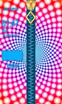 Zipper Lock Screen – Illusions screenshot 10