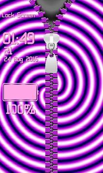 Zipper Lock Screen – Illusions screenshot 11