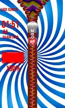 Zipper Lock Screen – Illusions screenshot 13