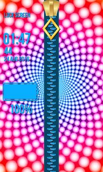 Zipper Lock Screen – Illusions screenshot 3