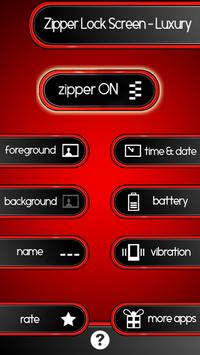 Zipper Lock Screen – Luxury screenshot 1