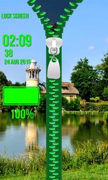 Zipper Lock Screen – Paris screenshot 4