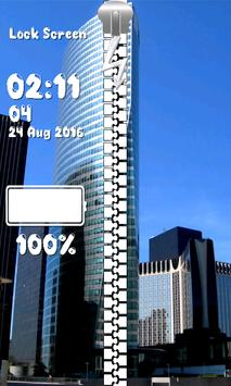 Zipper Lock Screen – Paris screenshot 5