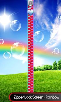 Zipper Lock Screen – Rainbow screenshot 7
