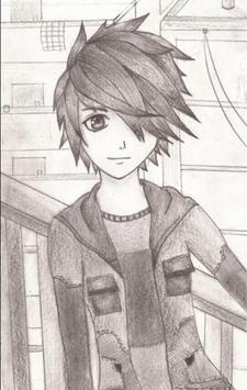cool anime drawings screenshot 13