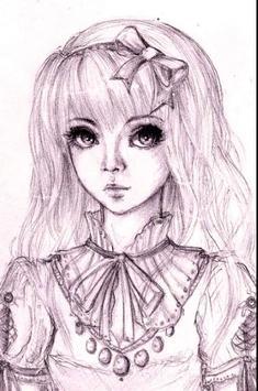 cool anime drawings screenshot 2