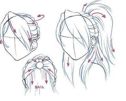 cool anime drawings apk screenshot