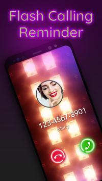 Call flash: Call Screen flashlight, call reminder screenshot 1
