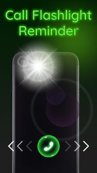 Call flash: Call Screen flashlight, call reminder screenshot 2
