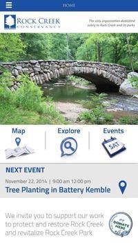 Rock Creek Conservancy apk screenshot