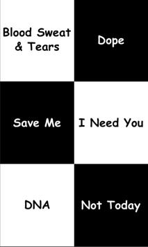 Piano Tap - KPOP BTS poster