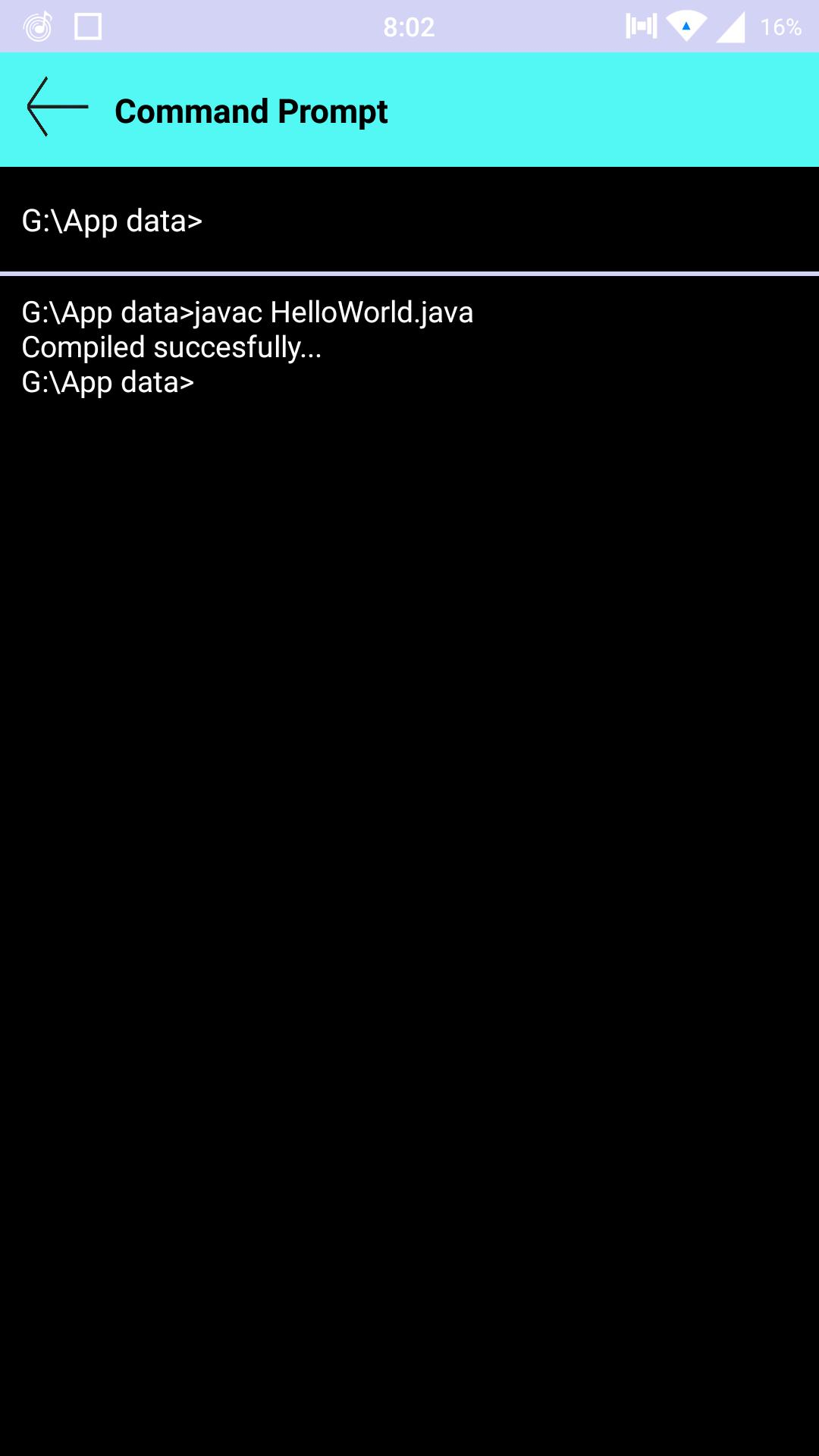 Command Prompt for Android - APK Download