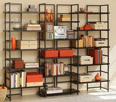 Cool Bookshelf Ideas apk screenshot