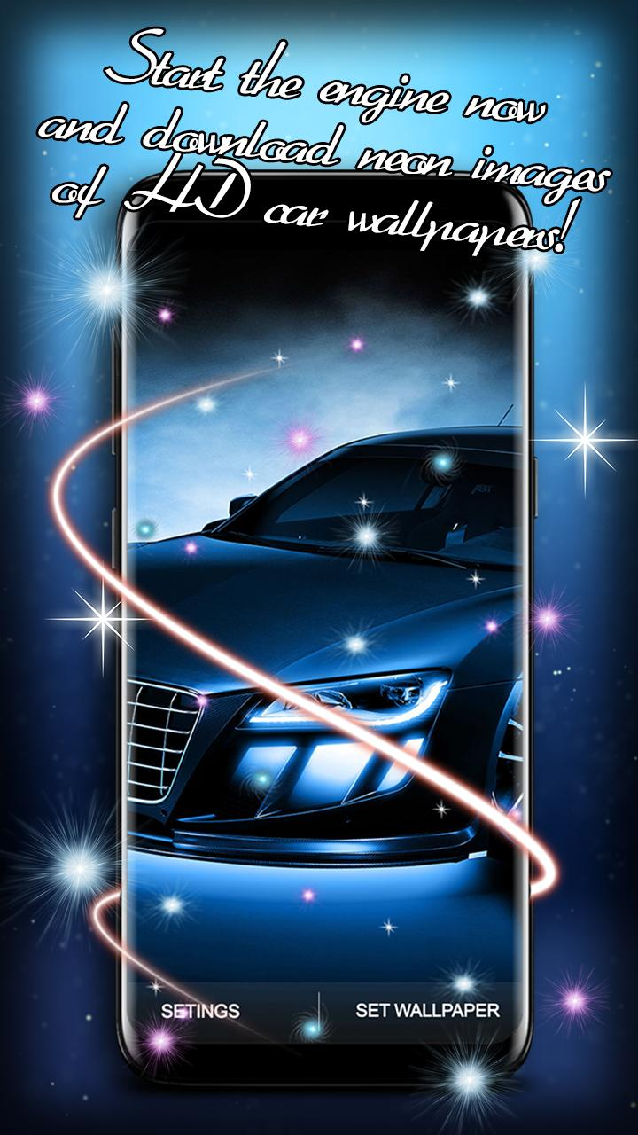 Cool Cars With Neon Lights Wallpaper For Android Apk Download