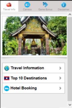 Laos Holiday : Vacations screenshot 1