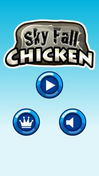 Sky Fall Chicken poster