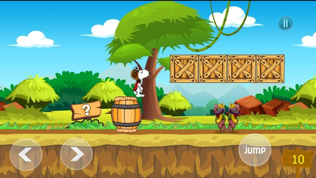 Peanuts Snopy in Town Tale apk screenshot