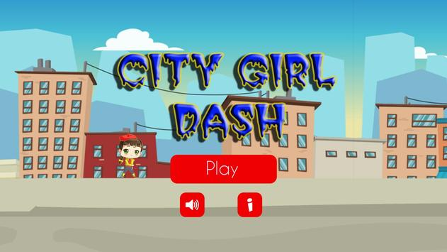 City Girl Dash poster