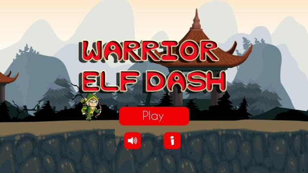 Warrior Elf Dash poster