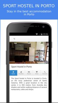 Sport Hostel in Porto apk screenshot