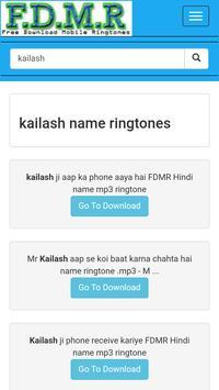 fdmr name ringtone music download