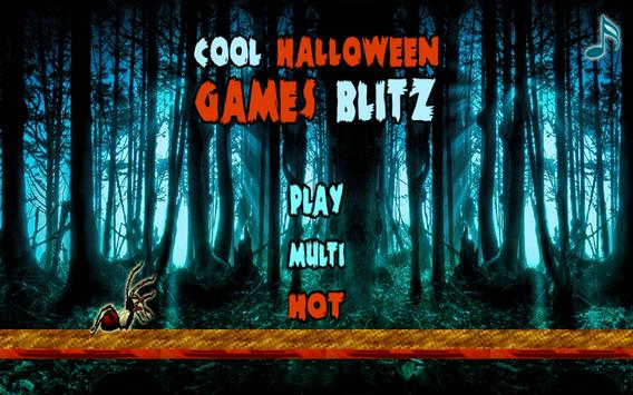 Cool Halloween Games Blitz poster