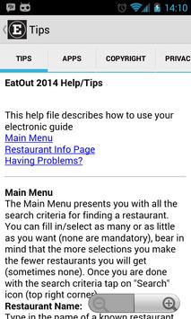 Eat Out Restaurant Guide 2015 screenshot 6