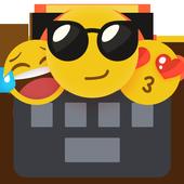 Emoji Keyboard-Cool Keyboard, Emoticon , GIFs icon